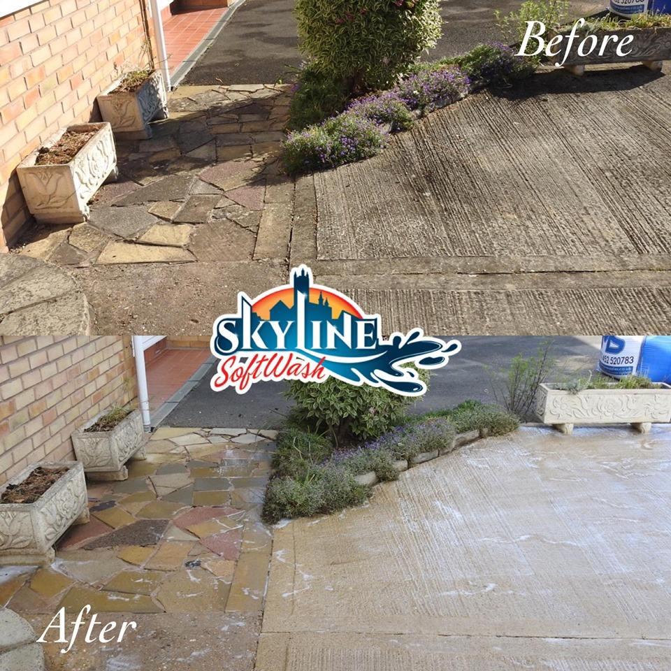 Driveway cleaning in Gloucester