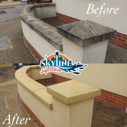 Wall cleaning in Gloucester