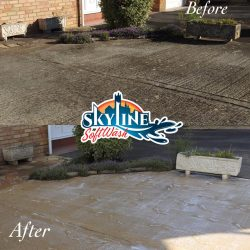 SoftWash patio cleaning Gloucester