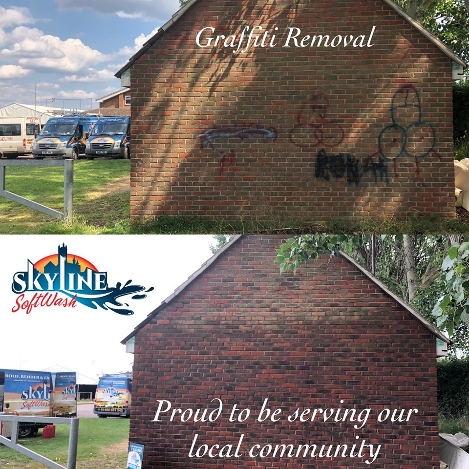 Graffiti removal in Gloucester, Gloucetershire