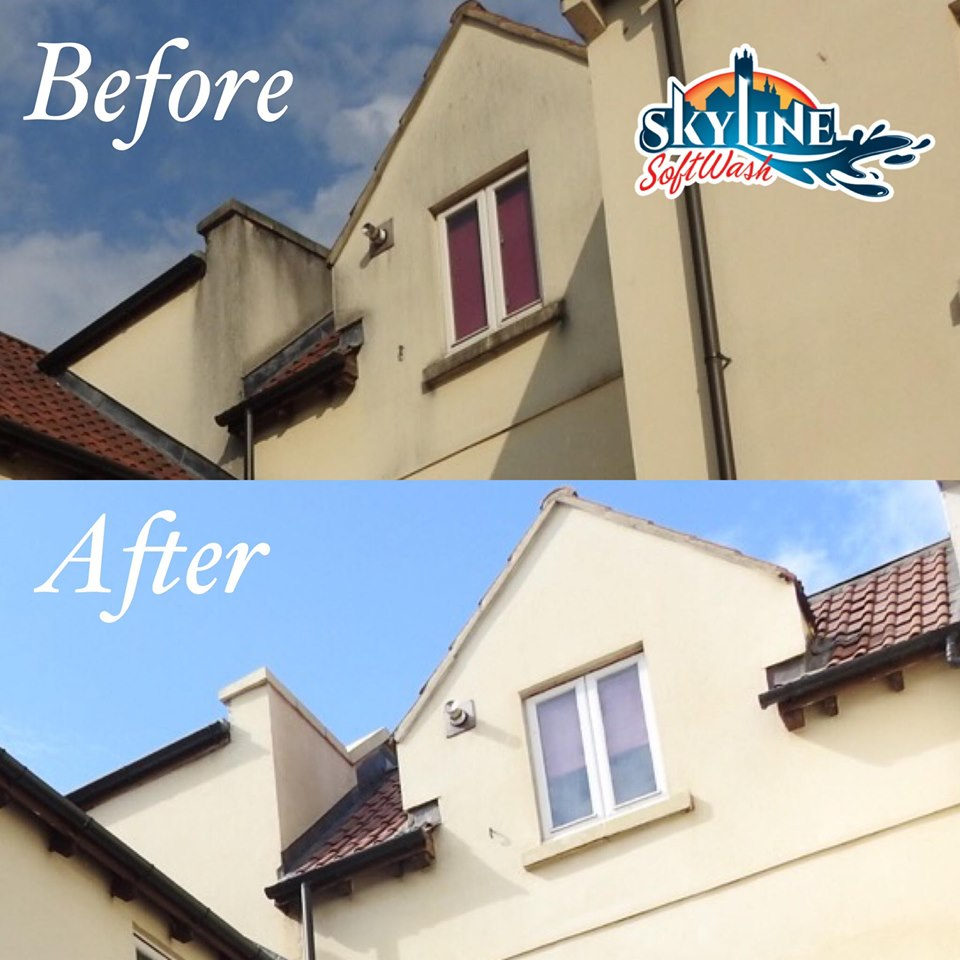 Render Cleaning in Bath, Somerset