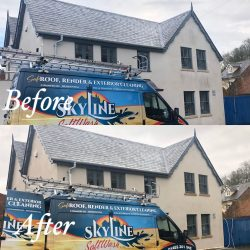 render cleaning service in Shropshire