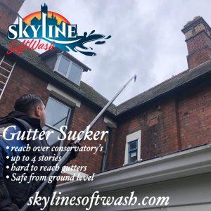 Gutter Sucker, Gutter cleaning in Cheltenham