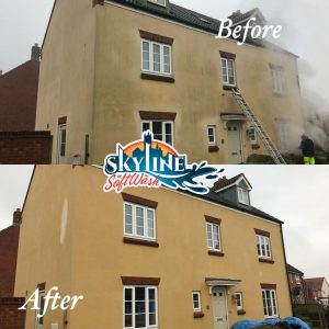 Render cleaning in Staunton, gloucestershire