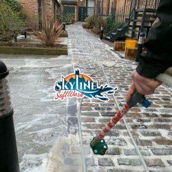 Cobble stone cleaning in Cheltenham