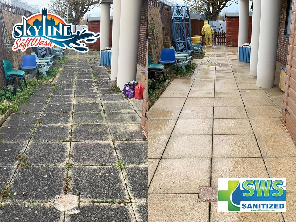 Patio Cleaning in Quesdegely Gloucester