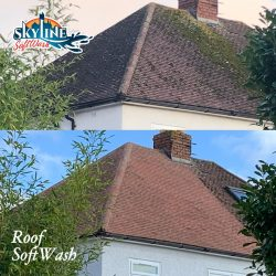 Roof Cleaning in Longford, Longlevens, Gloucester