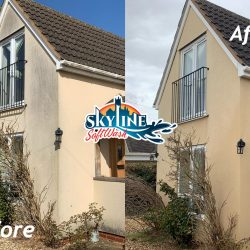 Silicone Render Cleaning in Blakes Hill, North Littleton, Evesham