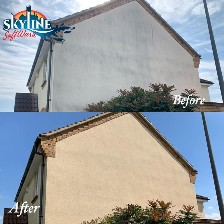 Render cleaning near Bristol