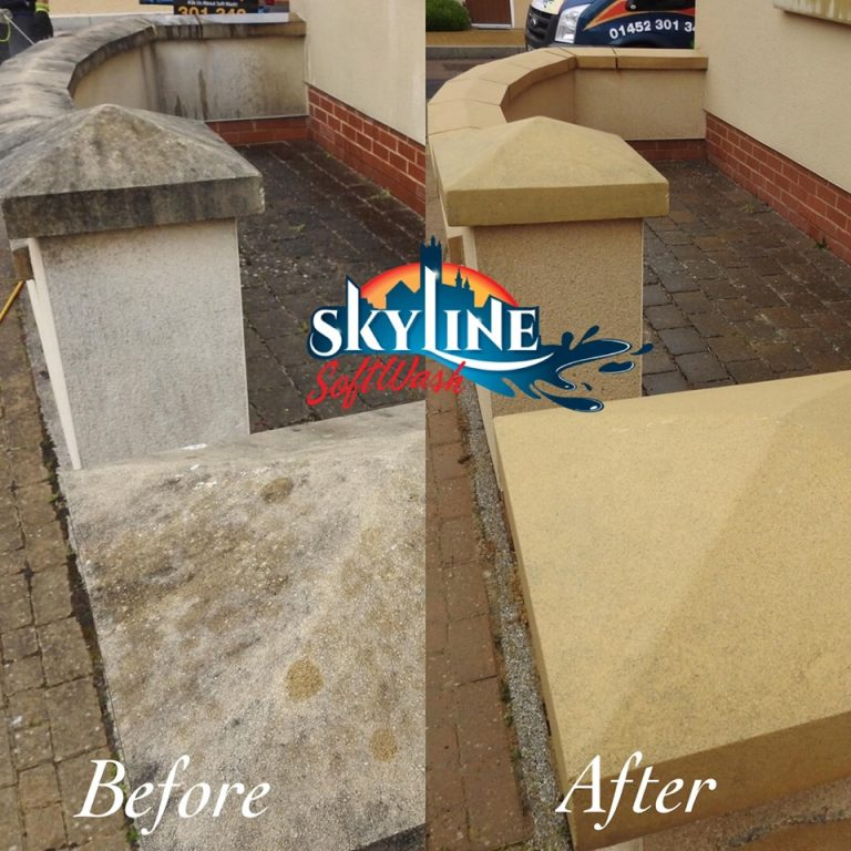 Commercial render cleaning Oxfordshire