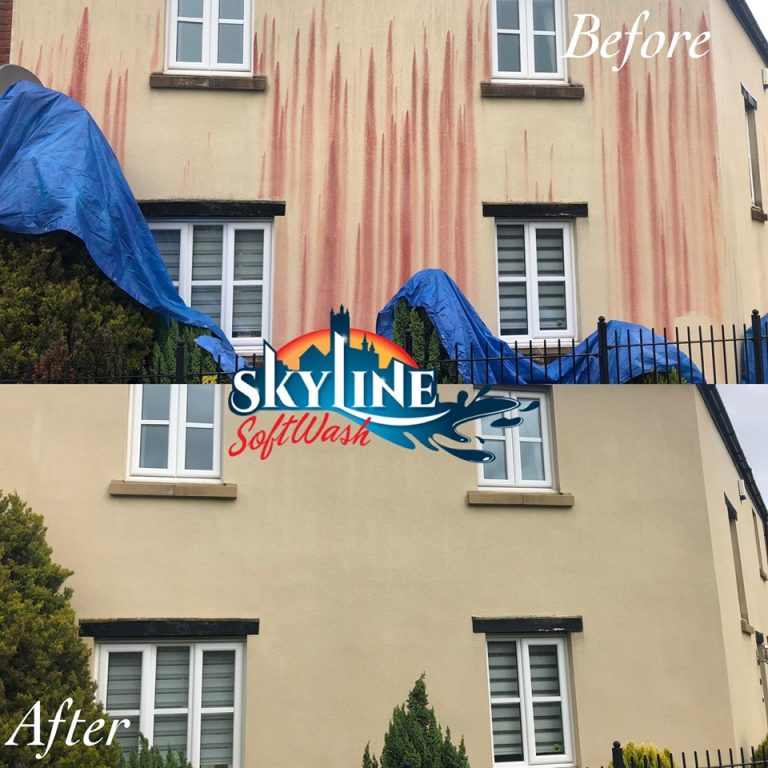 Render cleaning in Bristol