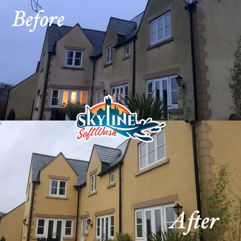 Render cleaning Cirencester