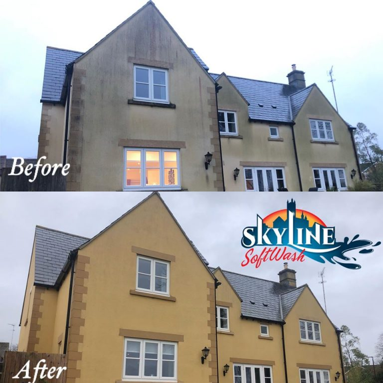 Render cleaning in Cirencester
