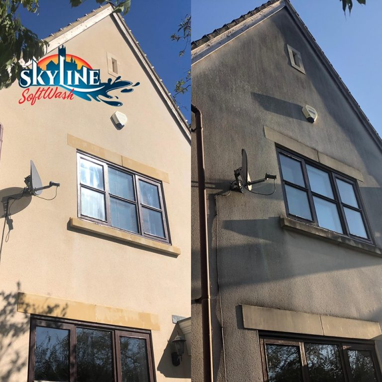Render cleaning Worcester