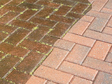 Block Paving Pressure Washing Mordiford