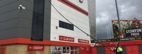 Cladding Cleaners Cardiff