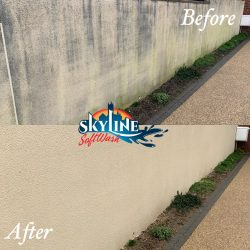 Red Algae Removal Using SoftWash Treatment, SoftWash Treatment in Naishcombe (2)